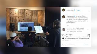 Malú comienza a grabar su nuevo disco