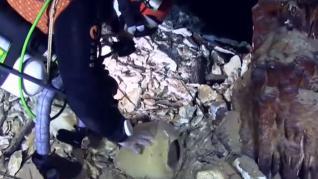 Descubren un yacimiento romano sumergido en aguas de Mallorca