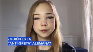 ¿Quién es Naomi Seibt y por qué la llaman la anti-Greta?