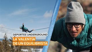 Deportes underground: La valentía de un equilibrista