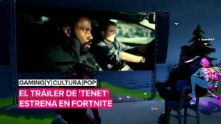 El tráiler de la película 'Tenet' tuvo un gran estreno en Fortnite