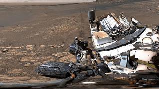 El Curiosity toma fotos de Marte con una cámara de 1.800 millones de píxeles