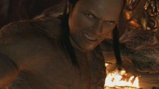 Dwayne Johnson en 'El regreso de la momia' (2001)