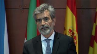 """Así fue el atronador """"¡Viva el rey!"""" que se gritó en la sala al finalizar el acto judicial en Barcelona"""
