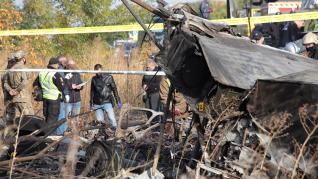 Solo un superviviente tras estrellarse un avión militar en Ucrania