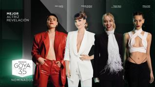 Nominadas a Mejor Actriz Protagonista en los Premios Goya 2021