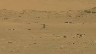 El helicóptero Ingenuity de la NASA logra con éxito su primer vuelo en Marte