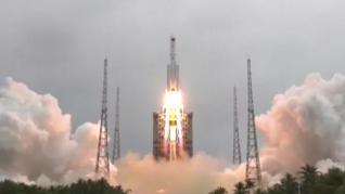 China envía con éxito al espacio un módulo clave para la construcción de su estación espacial