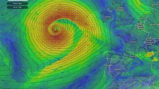 Una ciclogénesis explosiva podría traer a final de semana a 'Mathieu', borrasca que provocará fuertes vientos y lluvias