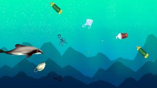 'Blue Ocean', un videojuego que explica cómo proteger los ecosistemas marinos esquivando basura y plásticos