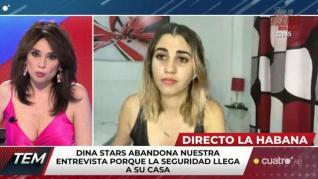 Detienen en directo a la 'youtuber' cubana Dina Stars durante su entrevista en 'Todo es mentira'