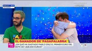Pablo, ganador de 'Pasapalabra', cuenta en 'Espejo público' en qué se ha gastado el premio