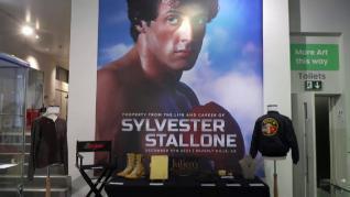 Millón y medio de euros recaudados en la subasta de objetos de las películas de Stallone