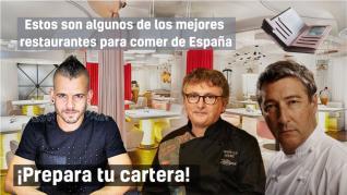 ¿Cuánto cuesta comer en los mejores restaurantes de España?