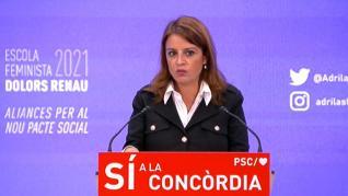 """Lastra califica al PP como """"una amenaza contra las mujeres"""""""