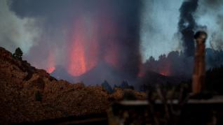 Así sonó el momento de la erupción del volcán Cumbre Vieja en La Palma