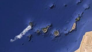 La erupción volcánica de La Palma emite entre 8.000 y 10.500 toneladas de dióxido de azufre al día