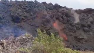 Los peligros de construir sobre antiguas coladas: la lava de otra erupción puede volver a circular por ellas