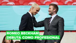 Romeo Beckham sigue los pasos de su padre y ya ha firmado su primer contrato como futbolista profesional