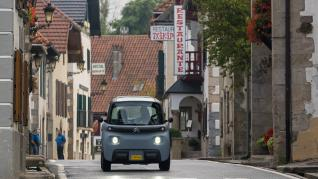 Citroën Ami en el Camino de Santiago