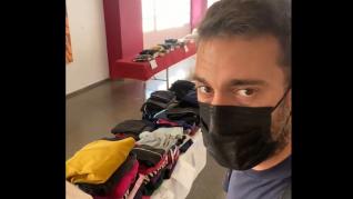 Desde el punto de gestión de la ayuda solidaria con La Palma en El Paso