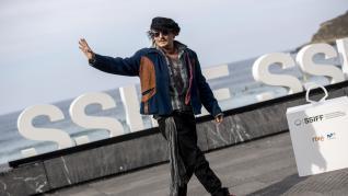 Johnny Depp en San Sebastián 2021