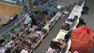 Toneladas de generosidad para los evacuados por la erupción del volcán en la Palma
