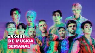 Ya está aquí la colaboración de Coldplay con BTS y, si quieres algo especial, ¡Kelly Clarkson saca una canción navideña en septiembre!