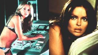 Los 70: Britt Ekland ('El hombre de la pistola de oro', 1974) y Barbara Bach ('La espía que me amó', 1977)