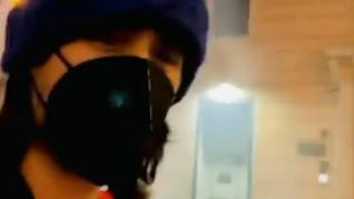 Jared Leto, rociado con gas lacrimógeno tras verse atrapado en una protesta antivacunas