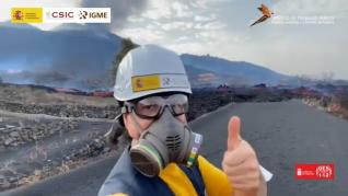 Los mejores momentos del volcán en homenaje a la población de La Palma