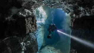 Laberintos submarinos únicos en el mundo donde poder bucear