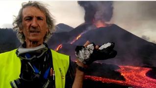 Qué son las rocas blancas que se han encontrado entre la lava del volcán de La Palma