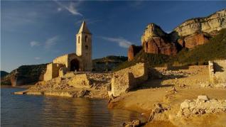 El pueblo catalán que se ahogó tras la construcción de un embalse