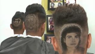 Desde el Taj Mahal a Michael Jackson: dos hermanos peluqueros triunfan por sus diseños de cabello creativos