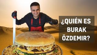 Burak Özdemir, el chef turco que viraliza sus platos XXL