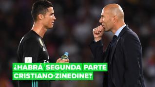 Cristiano Ronaldo podría haber recomendado a Zidane como entrenador para el Manchester United