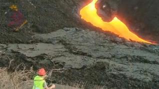 ¿Qué es la fisura eruptiva que se ha producido en el volcán de La Palma?