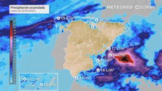 VÍDEO: Seis provincias están en alerta por lluvias y oleaje este fin de semana
