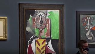Subasta de cuadros de Picasso