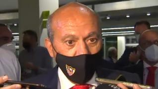 """Del Nido, en la Junta de Accionista del Sevilla: """"No he podido votar, tenía un mando sin pilas"""""""