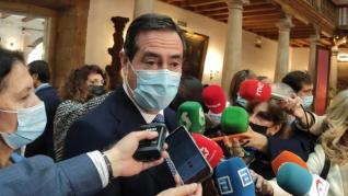 """Garamendi: """"Si queremos que la negociación llegue a buen puerto, lo importante es la discrección"""""""