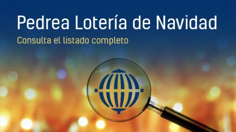 Pedrea de la lotería de Navidad 2019: números premiados con mil euros