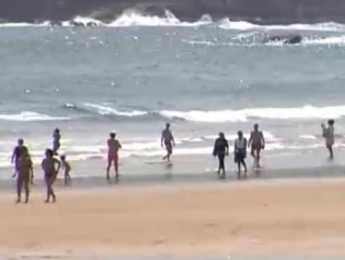 La fase dos abre la posibilidad del baño y tomar el sol en la mayoría de las playas