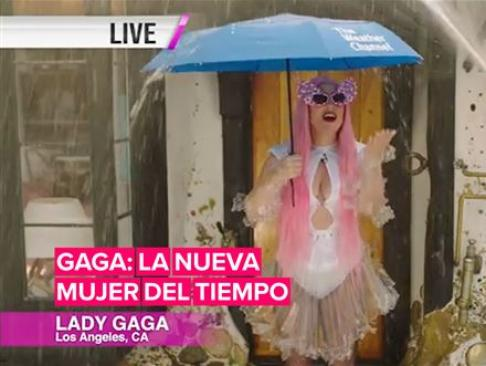 Lady Gaga es la mujer del tiempo más glamurosa