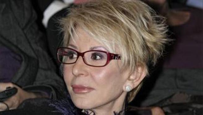 Karmele Marchante en una foto tomada en 2008.