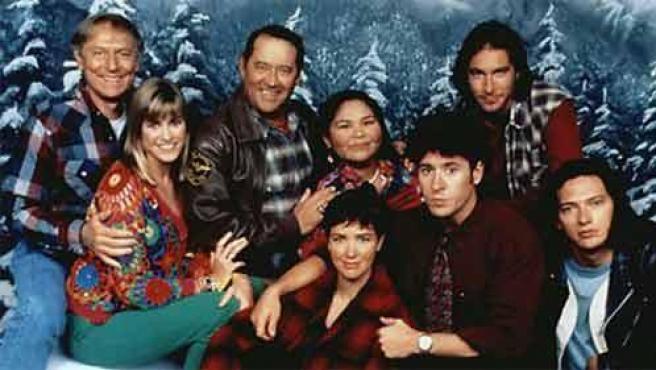 Algunos de los actores de 'Doctor en Alaska'.