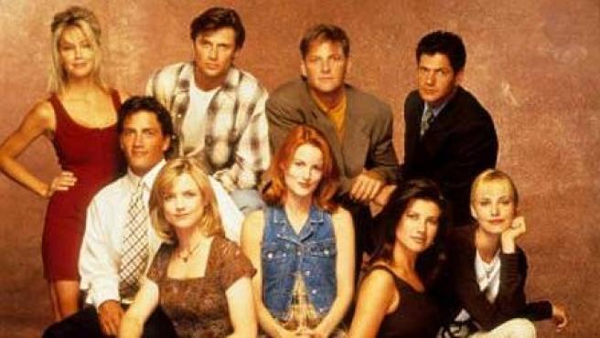 Actores de 'Melrose Place'.