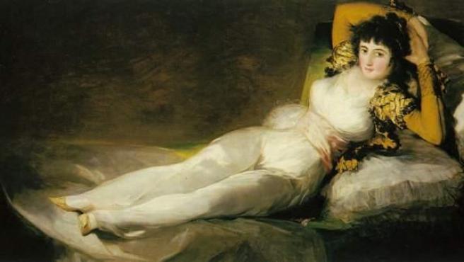 'La maja vestida', de Goya.