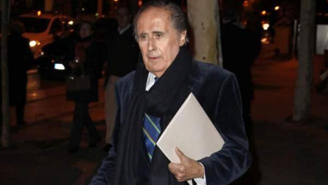 El periodista Jaime Peñafiel, en una imagen de archivo.